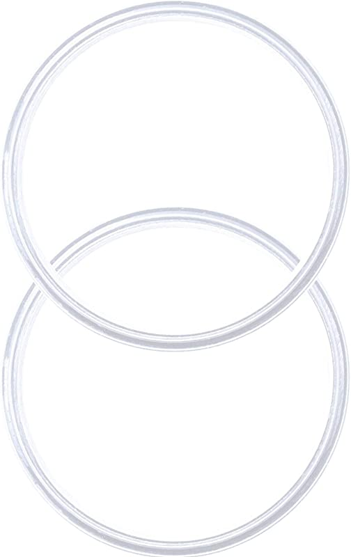 Pack Of 2 20 10 Oz Replacement Rubber Lid Ring Gasket Seals Lid For Insulated Stainless Steel Tumbler Cups Vacuum Effect Fit For Brands Yeti Ozark Trail Beast White By C Berg Model 2019