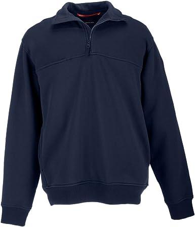 5.11 Tactical 72363 - Camisa de Trabajo Repelente al Agua para Hombre, con Cremallera de 1/4