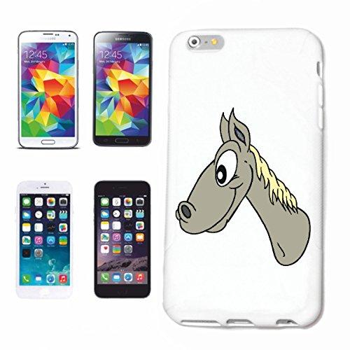 Bandenmarkt telefoonhoes compatibel met Samsung Galaxy S5 paard hoofd cartoon plezier fun cult film serie dvd cartoon plezier fun cult film serie dv hardcase beschermhoes