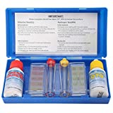 Liamostee 1 Set PH Chlorine Water Quality Test Kit Hydrotool Testing Accessories for Swimming Pool