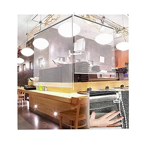 FUFU Tende a Rullo Cucina Blinds a rulli Anti-zanzare, Tende Trasparenti, Sollevamento Manuale, Tende notturne fresche-mantenute, Varie Dimensioni (Size : 120cm x 100cm/47.2'x39.4')