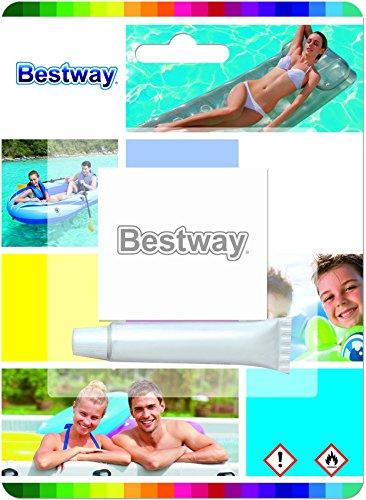 Bestway 8320543 Kit reparación Pegamento vinilico + PVC