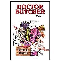 ドクターブッチャー、MDファッションポスターキャンバス絵画家の装飾ギフトのための印刷された写真-50X70CMフレームなし