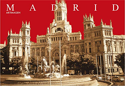 Postkarte Madrid Cibeles-Post 16 x 11 cm.