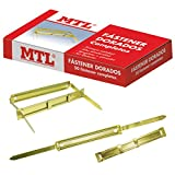 MTL 79190 - Pack de 50 fasteners, color dorado