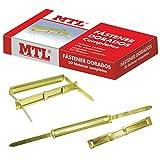 MTL 79190 - Pack de 50 fasteners, color dorado...