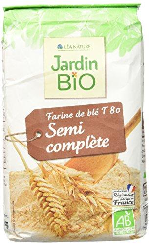 Jardin BiO étic Farine de Blé semi-complète T 80