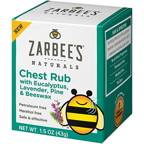 Zarbee's Naturals Children's Chest Rub, 1.5 Ounce