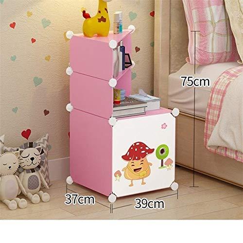 Nachtkastje LKU Slaapkamer nachtkastje maken mute bijzettafel slaapkamermeubel nachtkastje, model J