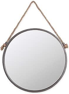 Rope & Circle Mirror Medium