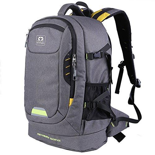 Zaino borsa fotografica lenti treppiedi panno di Oxford per Canon Nikon Sony Sumsung Olympus