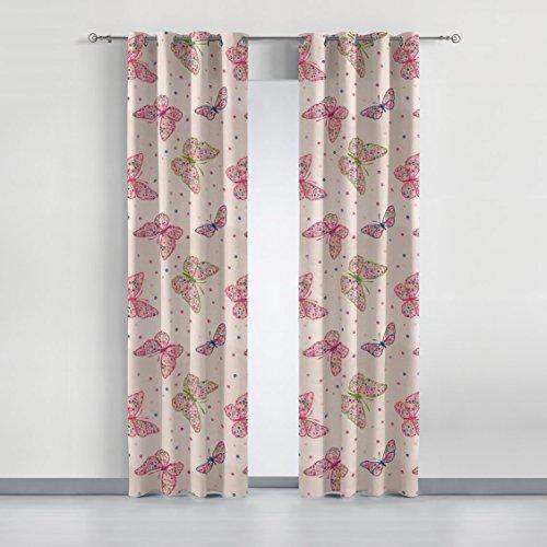 cortinas estampadas con ollaos