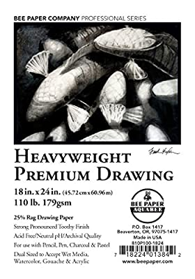 Bee Paper Rag Drawing Paper Pack