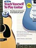 Alfred's Teach Yourself to Play Guitar: Everything You Need to Know to Start Playing the Guitar!, Book & Online Video/Audio (Teach Yourself Series)