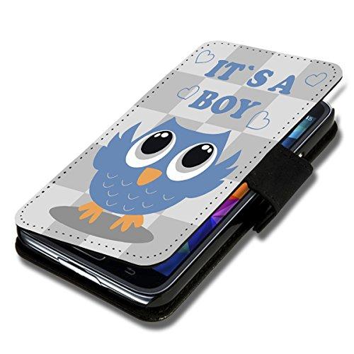 wicostar Book Style Flip Handy Tasche Hülle Schutz Hülle Schale Motiv Etui für Wiko Sunset 2 - Flip 1A35 Design5