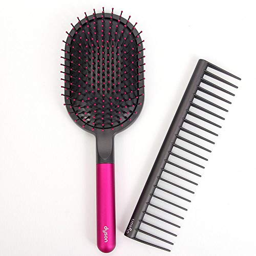 Dyson Designed Detangling Comb and paddle brush for Dyson Supersonic Hair Dryer