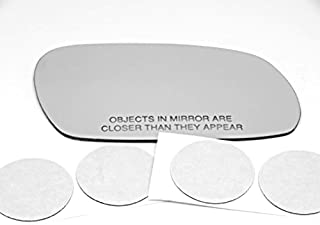 Fits 91-99 Tercel 96-99 Paseo Left Driver Mirror Glass Lens w//Adhesive 2 options