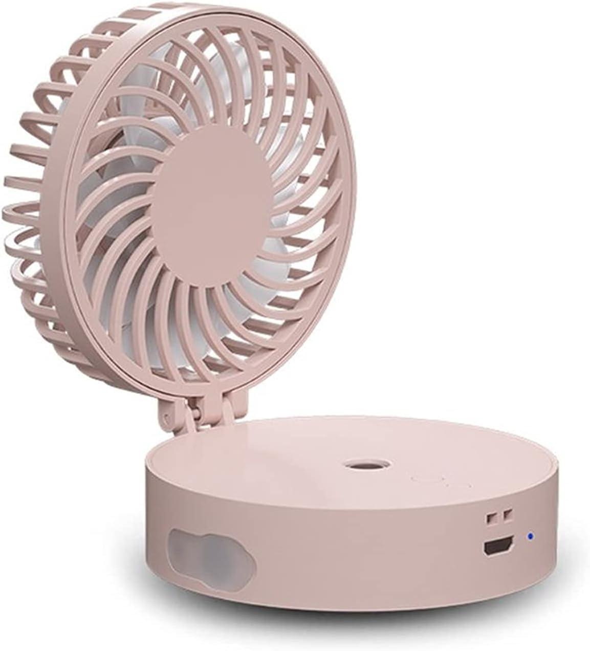 Max 62% OFF Bombing free shipping ZJSXIA Portable Summer Mini Handheld Water Folding Fan Mist USB