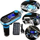 Fusiontech Transmetteur FM Bluetooth Adaptateur voiture radio Car Kit MP3 Player avec...