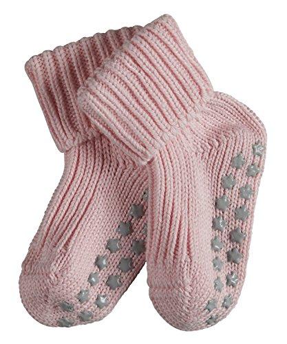 FALKE Baby Socken Catspads Cotton - 96{2ad6e3edbf7b1fe05d46e80c0f15b786e52eff330015b5098cbcaf6a14f3bab5} Baumwolle, 1 Paar, Rosa (Powder Rose 8900), Größe: 74-80