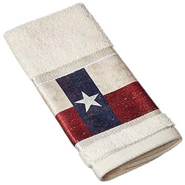 Avanti Linens 032184MUL Texas Star Finger Towel, Medium, Multicolor