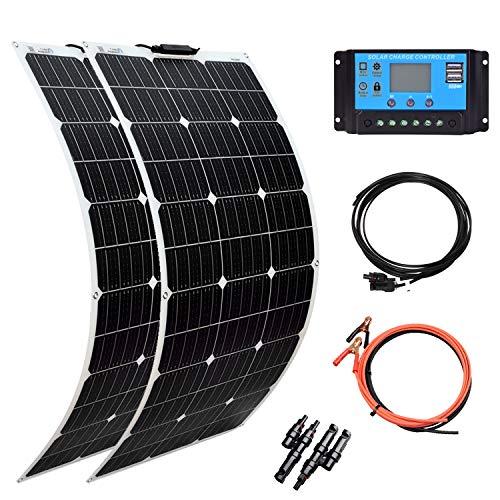 XINPUGUANG Solar Panel Monocrystalline Flexible System Kit