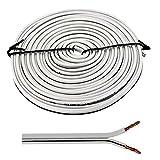 Cable altavoz 5m - 2x2,5mm² - 100% CCA Cobre ; Cable de audio