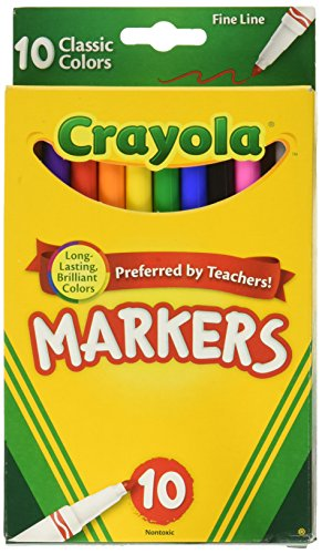 Crayola Marker Madness, 34 Broad Line Markers, Scented & Neon, Now $10