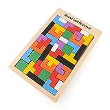 BSD Channel Puzzle de Madera Tangram - Tetris - Juguete de Madera...