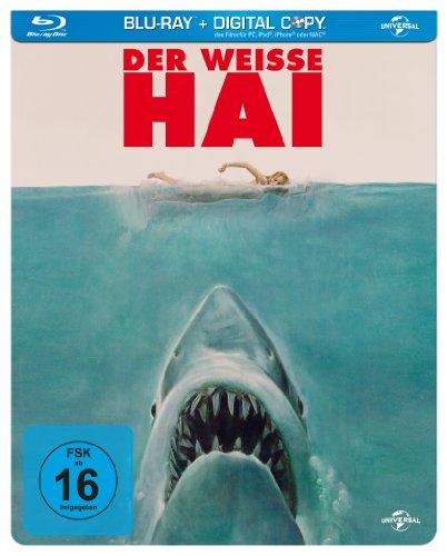 Der weiße Hai (Limited Steelbook Edition) [Blu-ray]