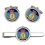 Giftshop UK 4626 Aeromedical Evacuación Escuadrón Rauxaf Gemelos y Corbata Clip Set