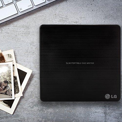 LG Electronics 8X USB 2.0 Super Multi Ultra Slim Portable DVD Writer Drive +/-RW External Drive with M-DISC Support