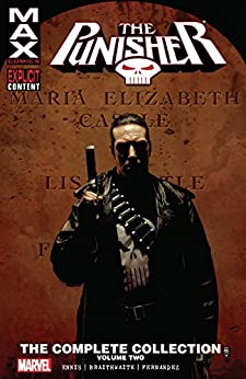 Punisher Max: The Complete Collection Vol. 2 (The Punisher (2004-2009)) by [Garth Ennis, Tim Bradstreet, Doug Braithwaite, Leandro Fernandez]