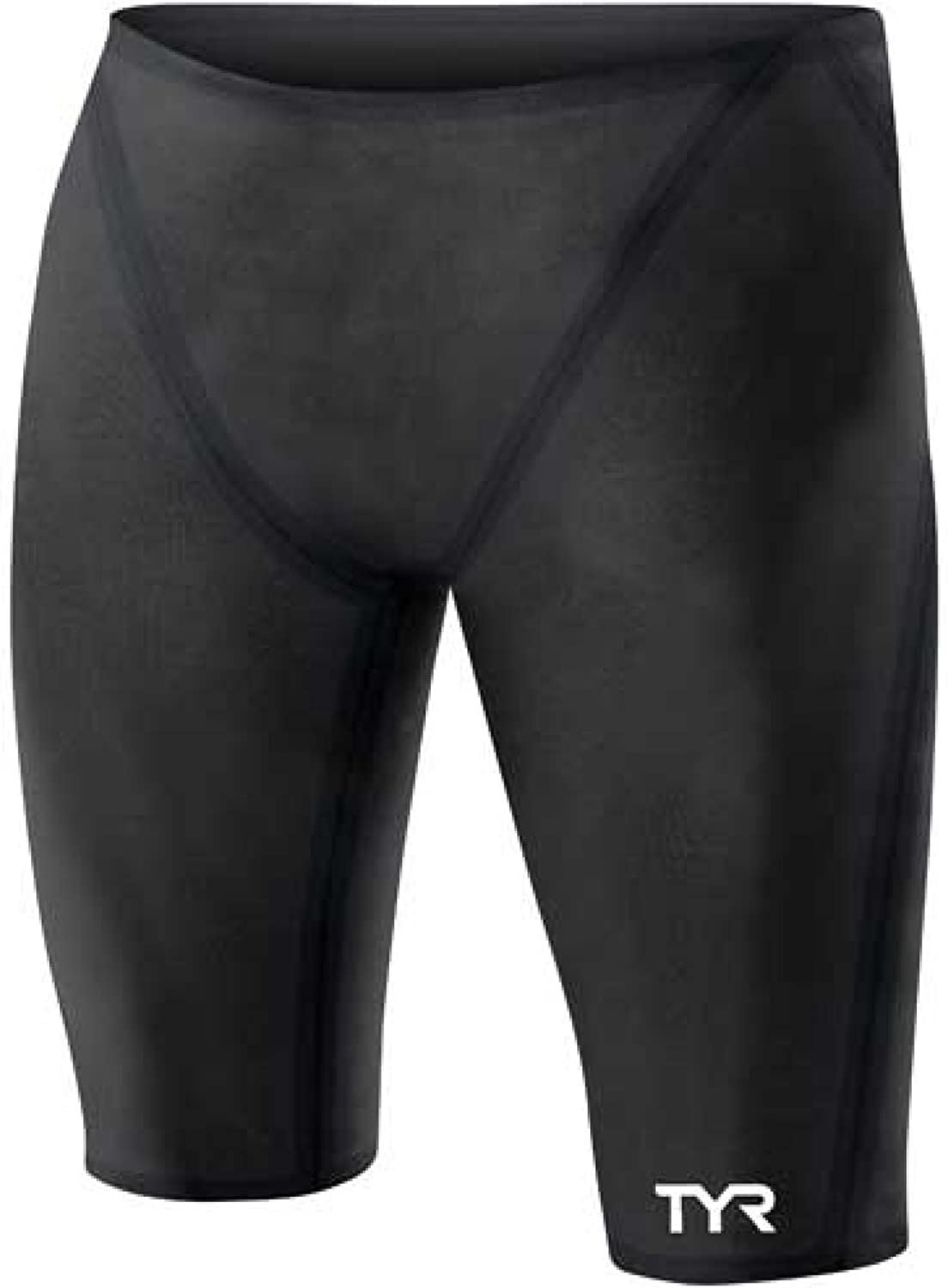 TYR 1TBJA6A30 Tracer B-SRS Jammer Swimsuit, Black, Size 30