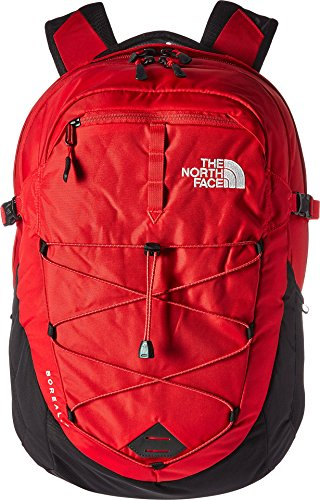 The North Face Borealis Backpack, TNF Red/TNF Black, One Size