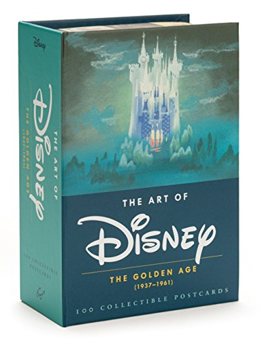 The Art of Disney: The Golden Age (1937-1961): 100 Collectible Postcards