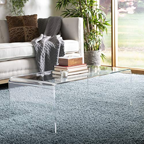 Safavieh Home Collection Atka Coffee Table, Clear