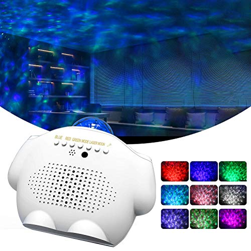 Star Night Light Projector, Galaxy Projector for Adults Gifts Ceiling Nebula Galaxy Star Light Projector with Voice Control,Ocean Wave Projector Light...