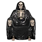 Design Toscano Seat of Death Grim Reaper Throne Chair, 51.5 inch, full color