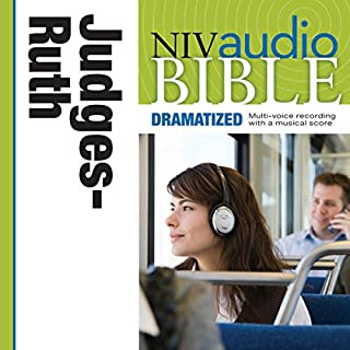 NIV Audio Bible, Dramatized: Judges and Ruth cover art