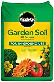 Miracle-Gro Garden Soil All Purpose: 1 cu. ft., For In-Ground Use, Feeds for 3 Months, Amends Vegetable, Flower and Plant Beds