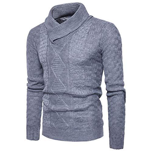 ADELINA Heren Sweatshirt Winter Sweater Gebreide Sweater Gebreide Jas Knitwear Losse Jas Modieuze Completi Mannen Coltrui Lange Outwear Gebreide Shirt Sweatshirts Streetwear Shirts