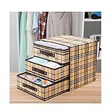 LANLANLife Caja de almacenamiento de ropa interior, caja de almacenaje del cajón, plegable, Armario Caja de almacenamiento, for el sujetador, ropa interior, calcetines, corbata, caja plegable, caja de