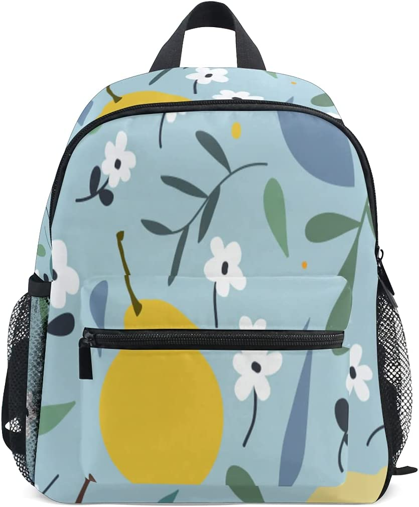 Backpacks Pears Flowers Cute Backpack Tr Industry No. 1 Boys Girls Shoulder For store