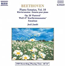 Beethoven: Piano Sonatas, Vol. 10 - Op. 28 'Pastoral', WoO 47 'Kurfurstensonaten', Sonatinas