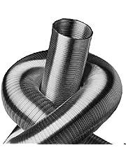 2-laags. Aluminium flexbuis, lengte 5 m, diameter 50 tot 500 mm (Ø 355 mm)