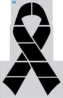 10' x 6.25' Awareness Ribbon 3 pcs Athletic Marking Track & Field Stencil
