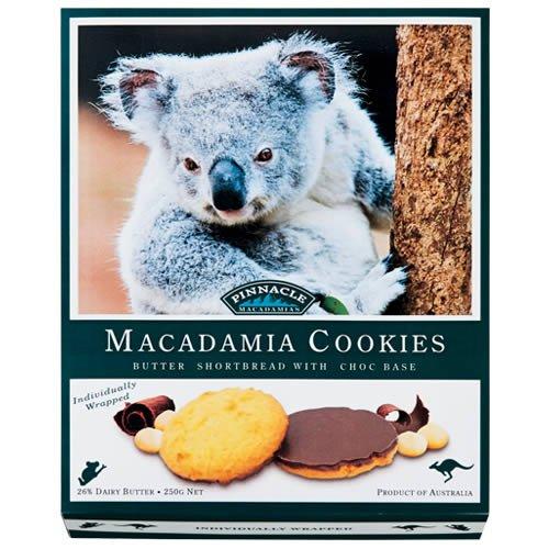 オーストラリア チョコがけ マカダミアナッツ クッキー 1箱