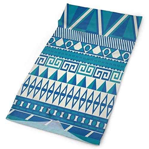 Nother Diadema colorida patrones aztecas para exteriores, bufanda para el cuello, polaina para la cabeza, banda para el sudor