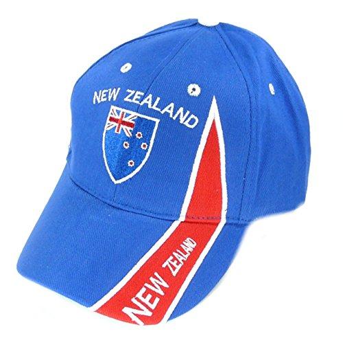 Fahnenwelt Basecap Cap Neuseeland New Zealand Kappe Mütze